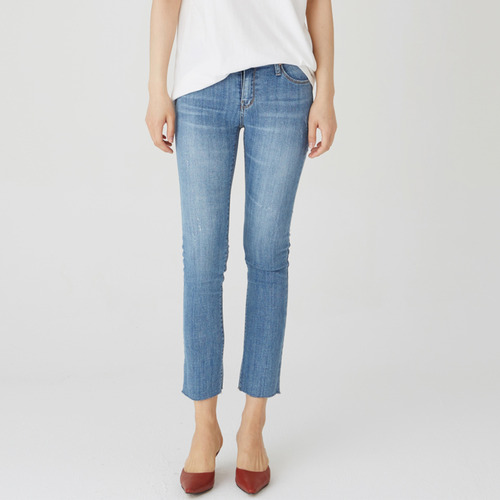 SUMMER STRAIGHT CROP JEAN