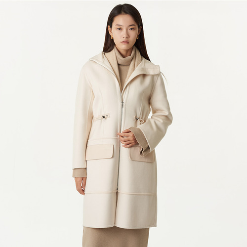 H. hooded  coat