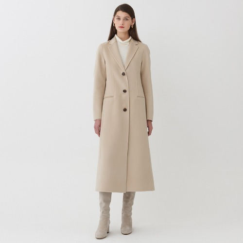 Jane cashmere blended coat
